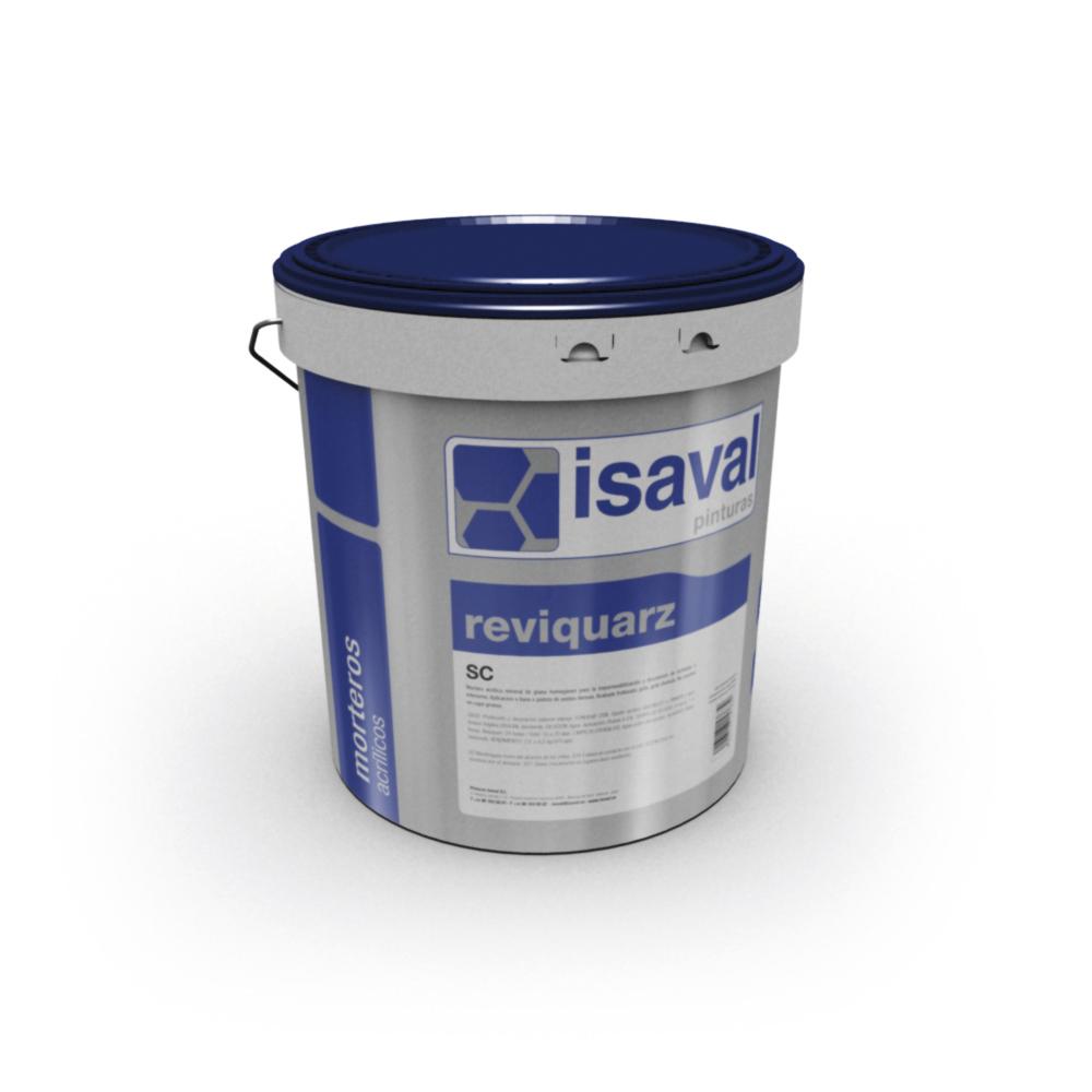 Reviquarz SC 10 Mortero mineral base silicona. Pinturas Isaval