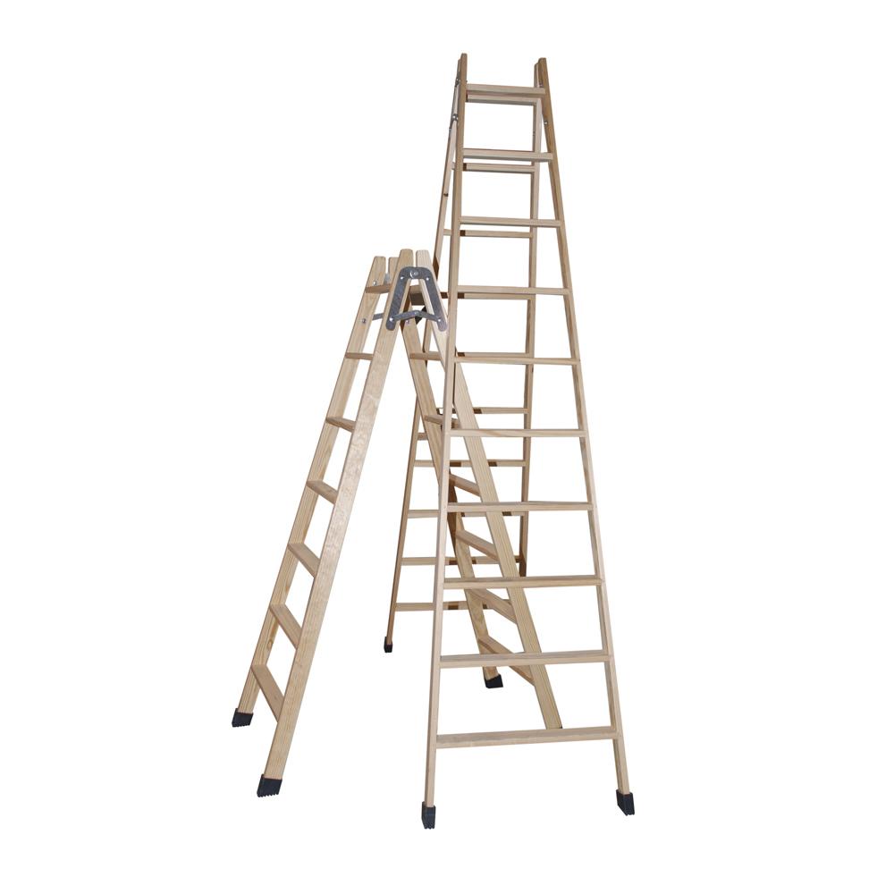 Escalera de aluminio isaval - Escalera de madera pintor ...