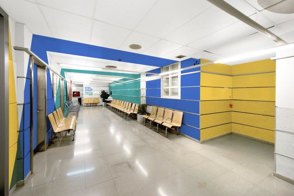 Hospital Arnau de Vilanova, Pintado con Pinturas Isaval