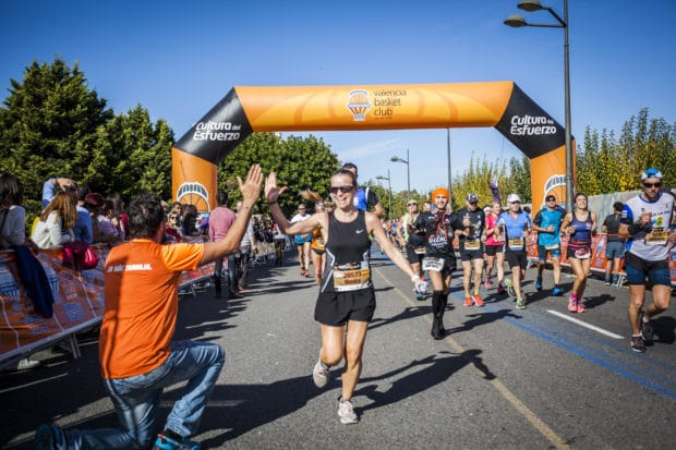 La línea azul que llevó a Valencia hacia el 9º Maratón más rápido del mundo