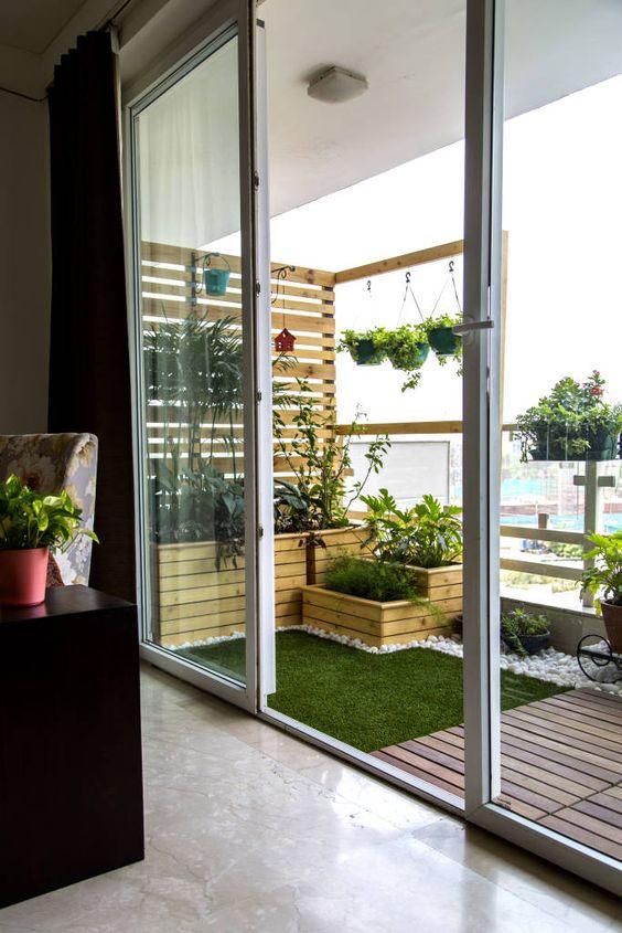 Transforma Tu Patio O Balcón En Un Jardín Con Césped