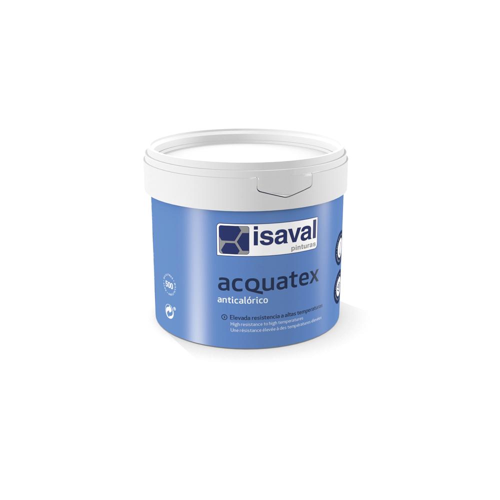 Acquatex Anticalórico negro. Esmalte a base de resina de silicona de Pinturas Isaval