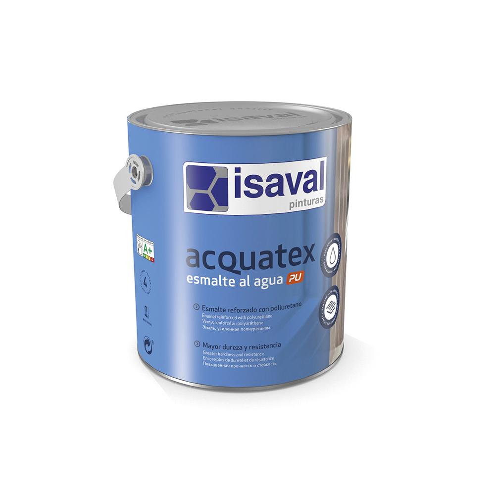 Acquatex PU Esmalte al agua. Esmalte poliuretano altas prestaciones de Pinturas Isaval