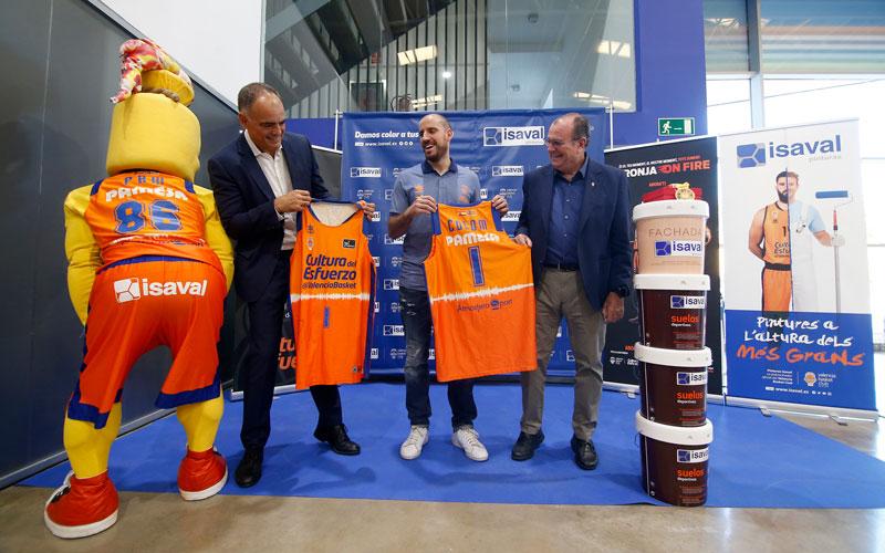 Presentación Quino Valencia Basket temporada 19 20
