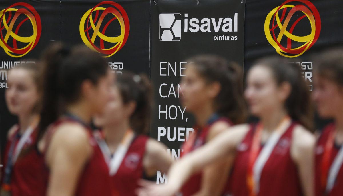 Isaval refuerza el apoyo al baloncesto femenino colaborando con el Campeonato de España Cadete