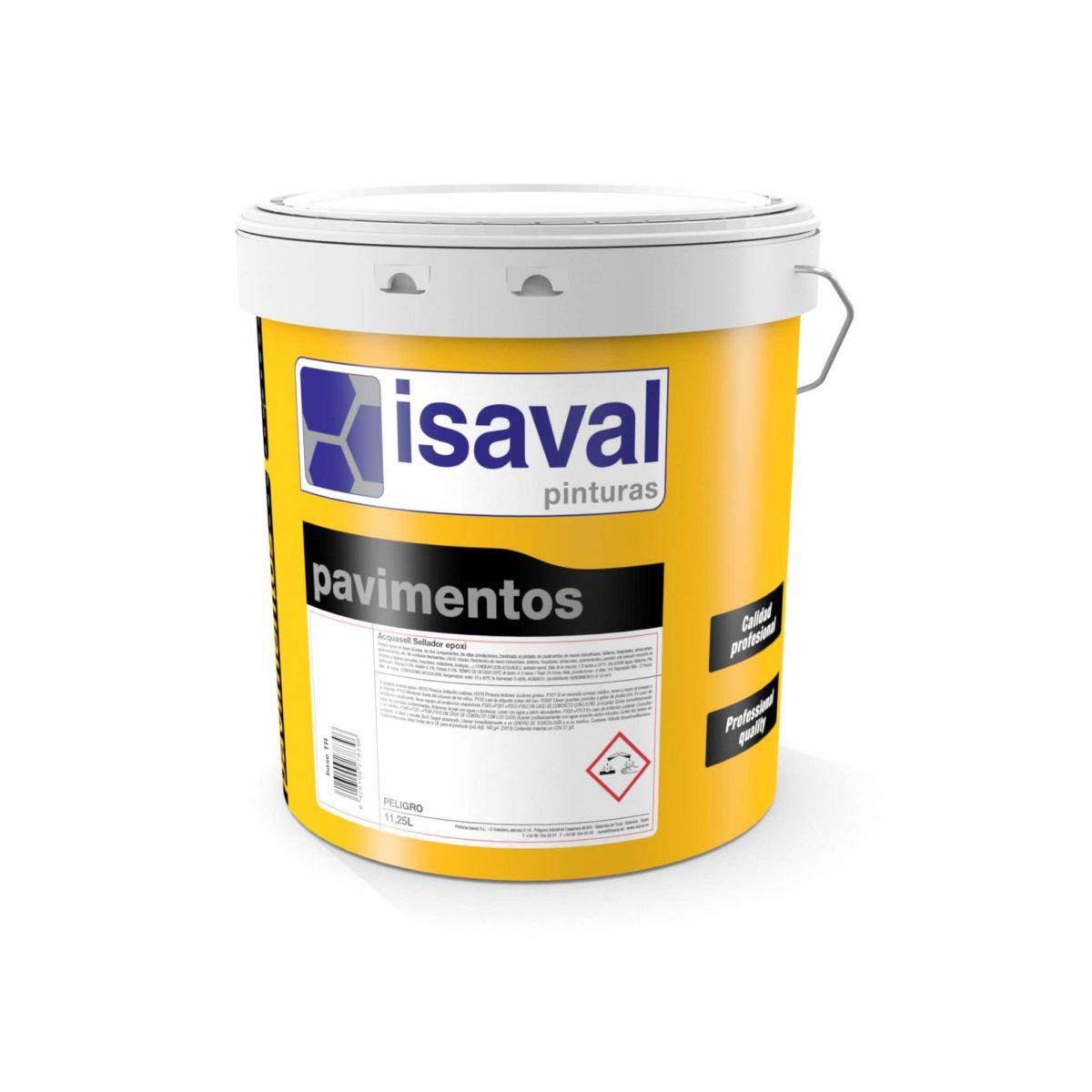 Acquasell sellador y consolidante epoxi de Pinturas Isaval