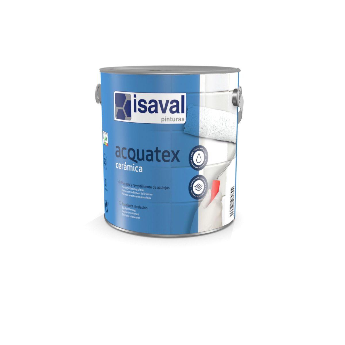 Acquatex Cerámica. Esmalte poliuretano azulejos de Pinturas Isaval