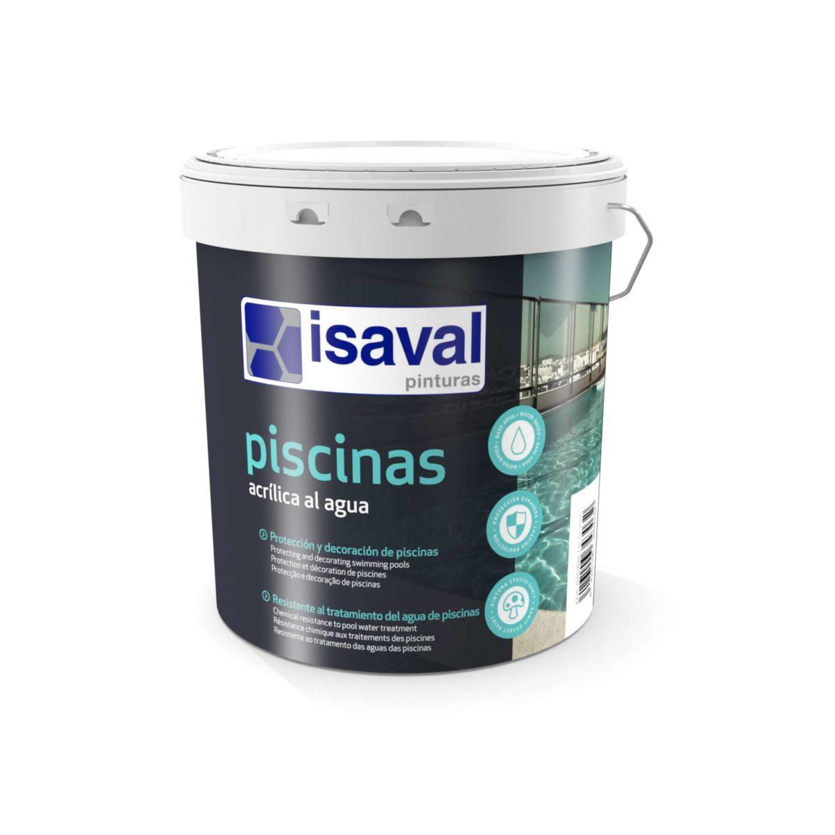 Acrílica piscinas. Protección y decoración de piscinas de Pinturas Isaval