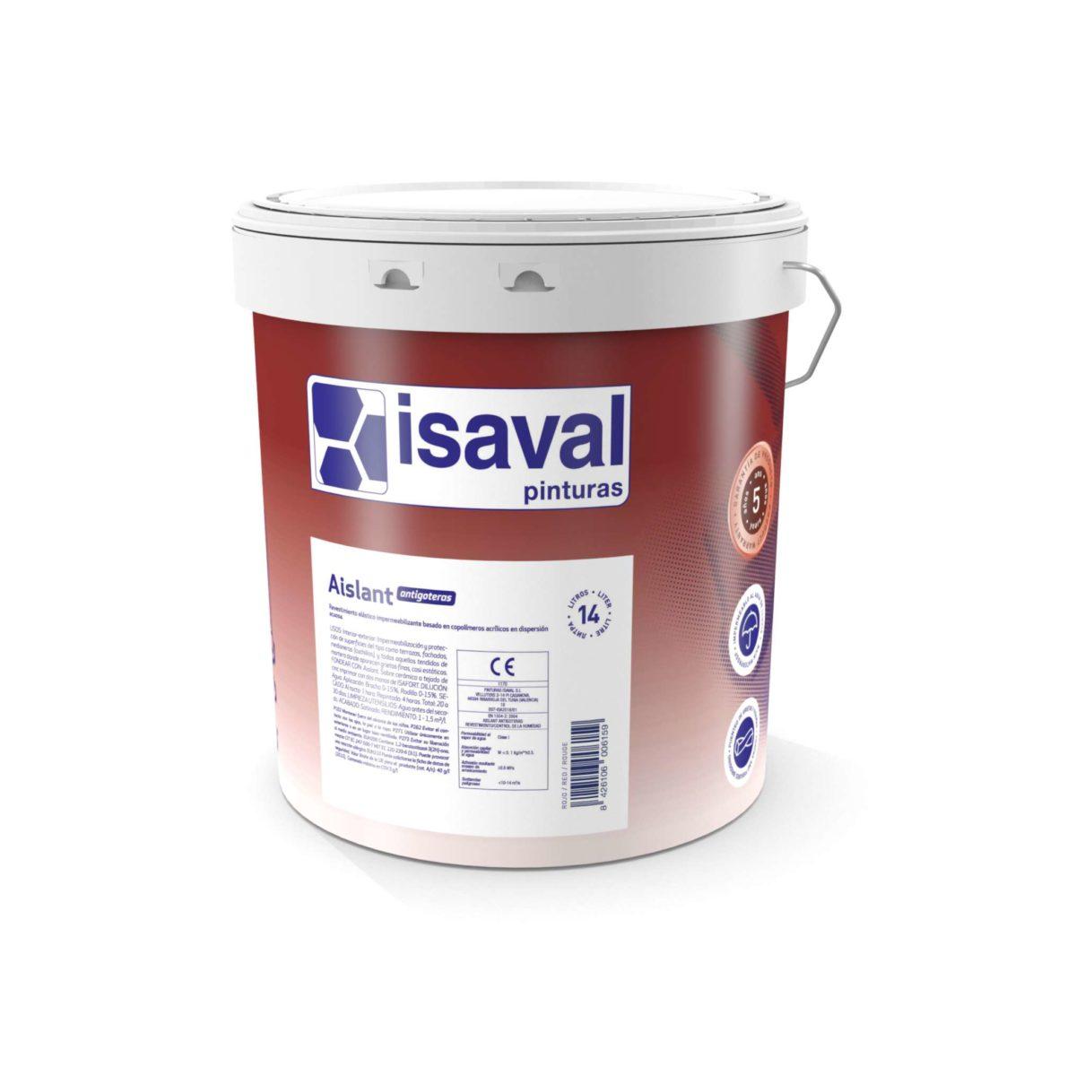 aislant Antigoteras. Rev elástico impermeabilizante de Pinturas Isaval