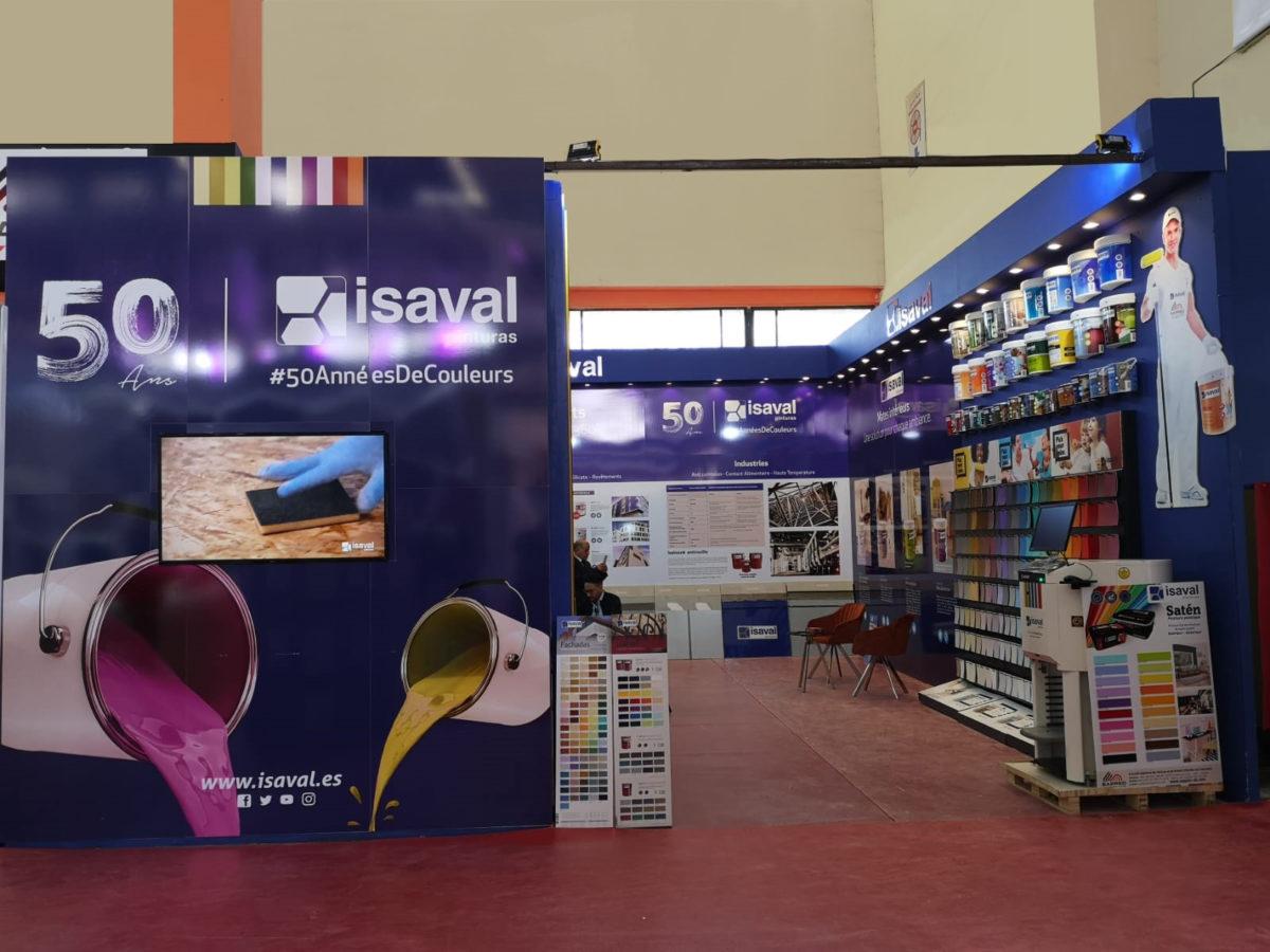 Pinturas Isaval un año más participa en la feria Batimatec (Argelia)