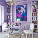 Decoración con Tonos Violetas