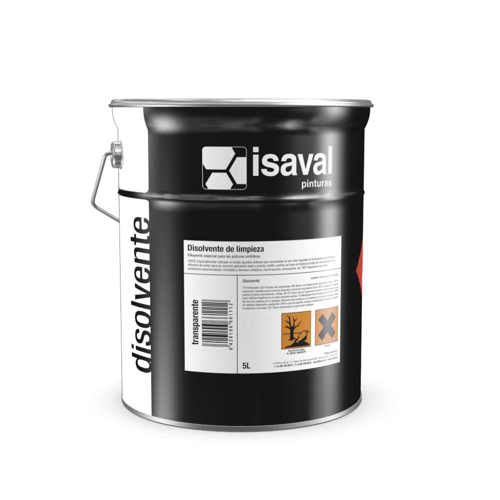 Disolvente Limpieza de Pinturas Isaval