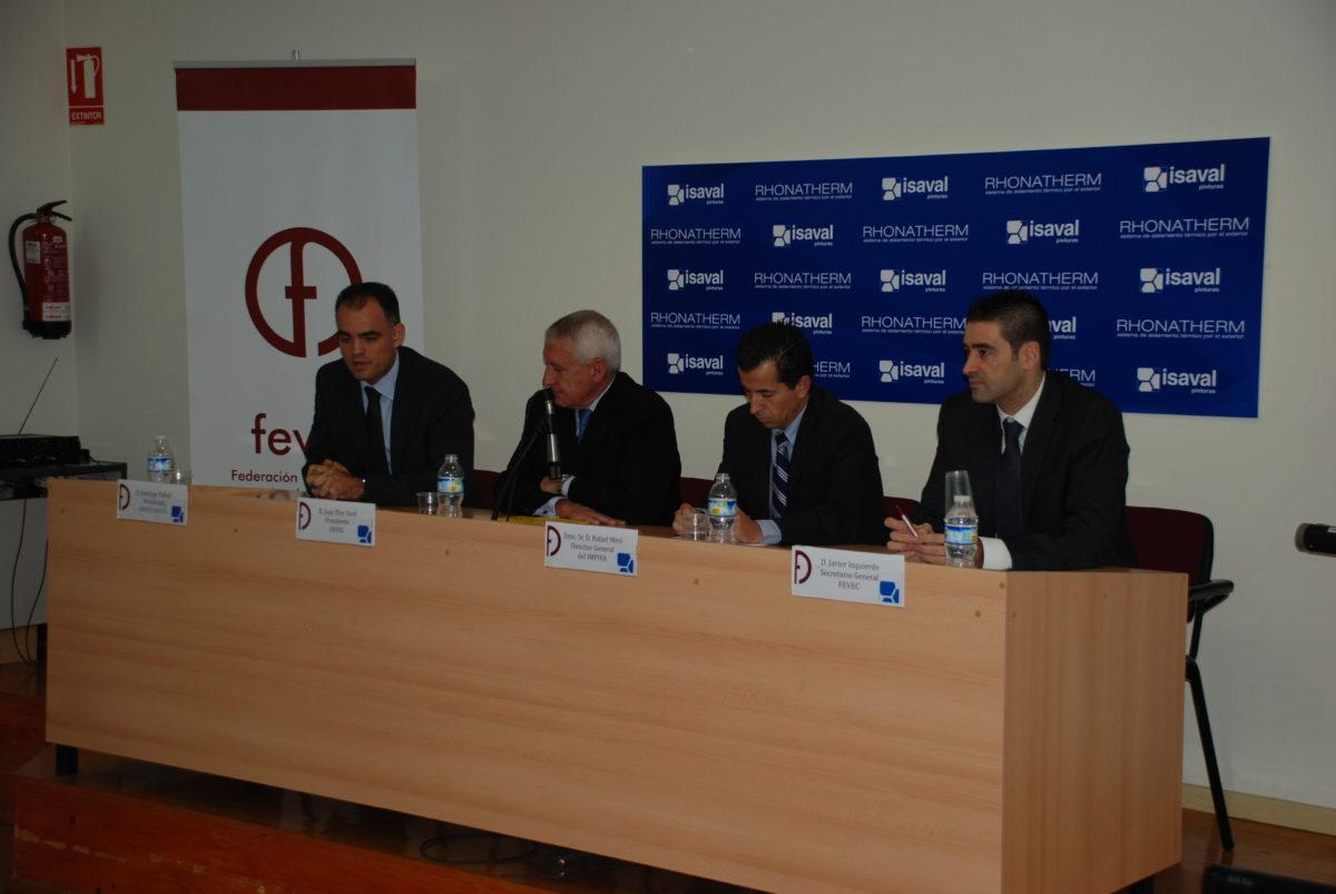 Isaval junto a FEVEC – Jornada de Rehabilitación energética y medioambiental de edificios.