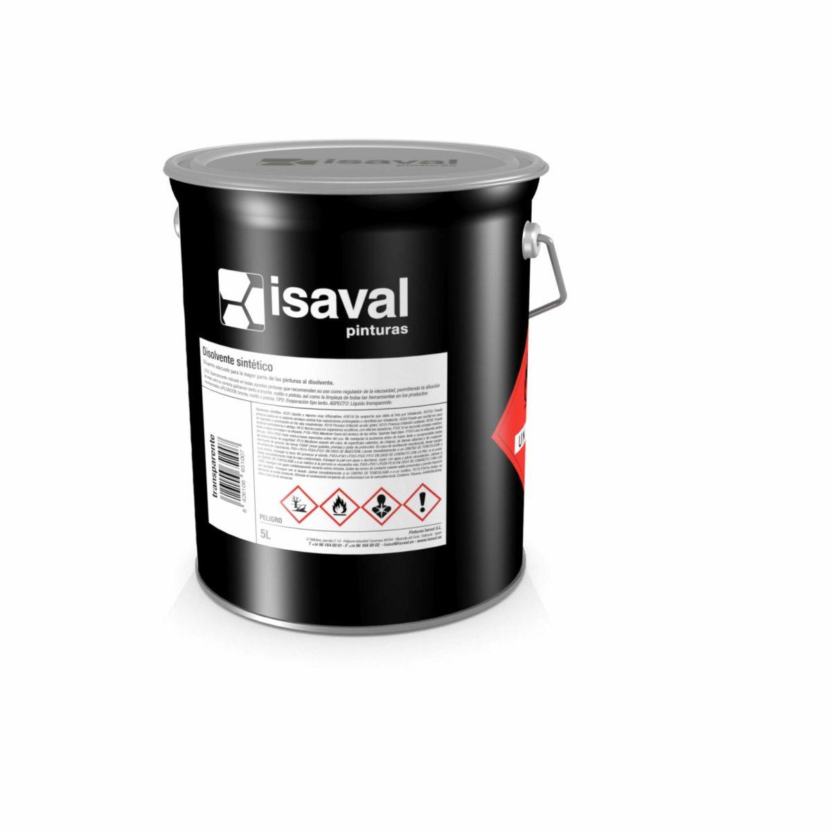 Disolvente sintético de Pinturas Isaval