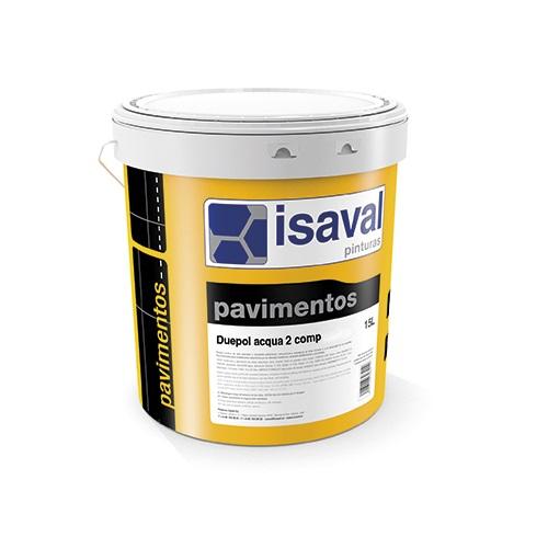 Duepol acqua 2 comp. Pintura de poliuretano pigmentada en base acuosa de Pinturas Isaval