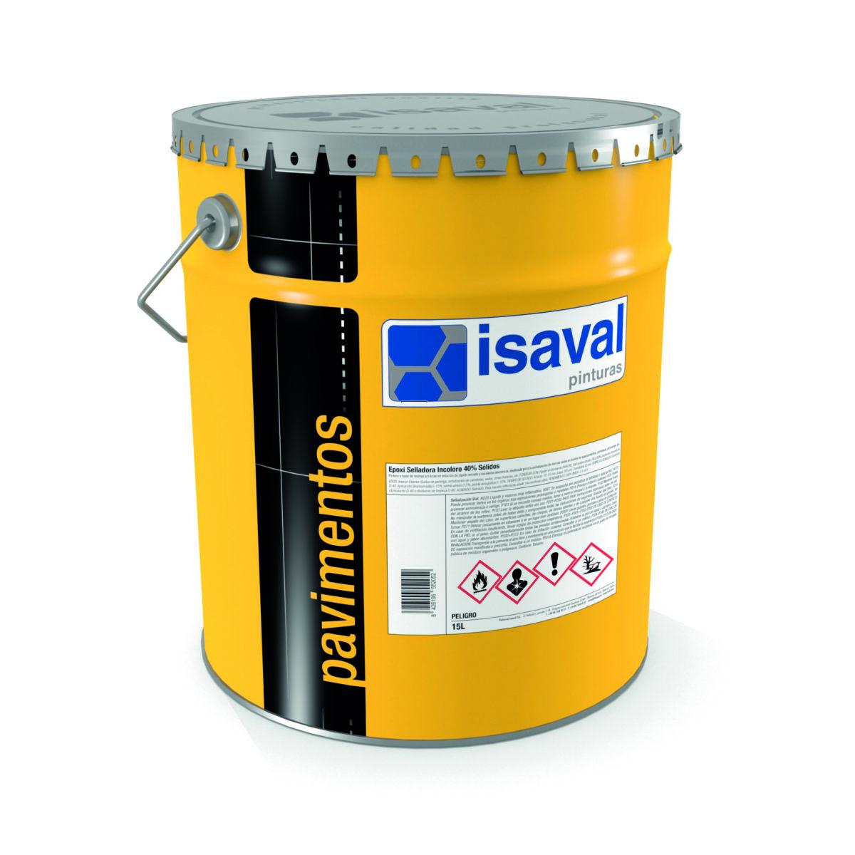 Epoxi sellador incoloro 40% sólidos. Imprimación epoxi incolora de Pinturas Isaval