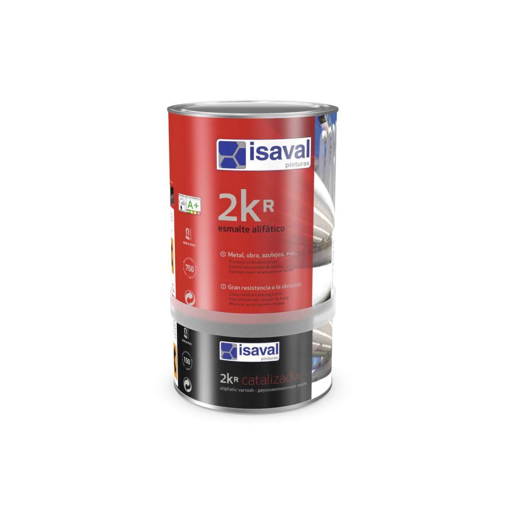 Esmalte alifático 2K+Catalizador. Esmalte poliuretano acrílico de Pinturas Isaval
