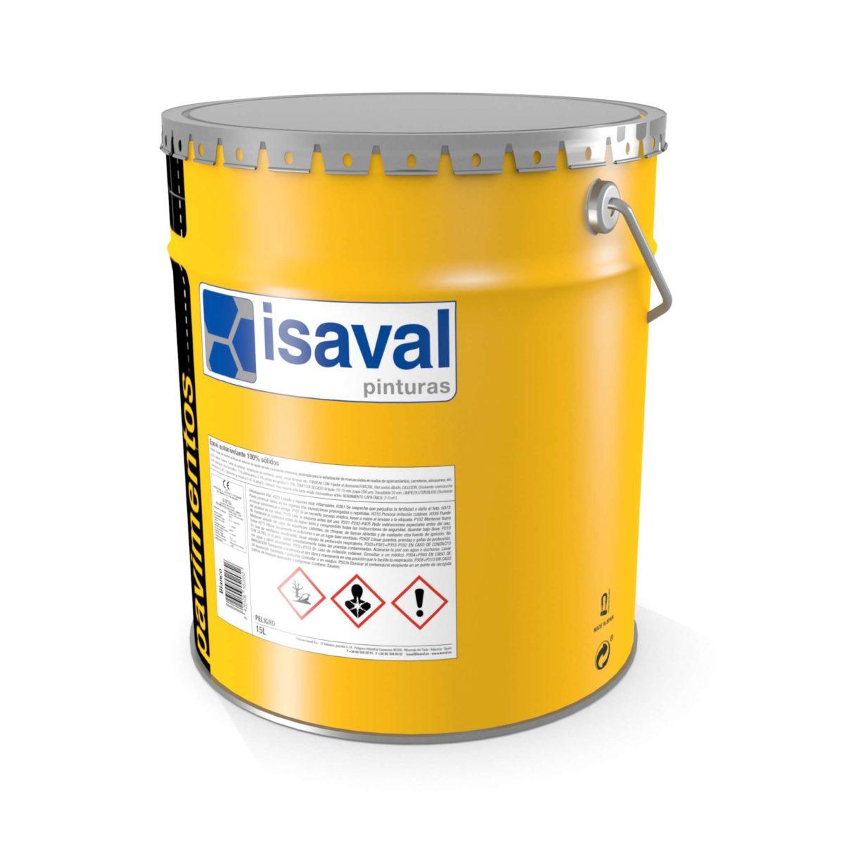 Epoxi autonivelante 100% sólidos. Resina epoxi pigmentada de Pinturas Isaval