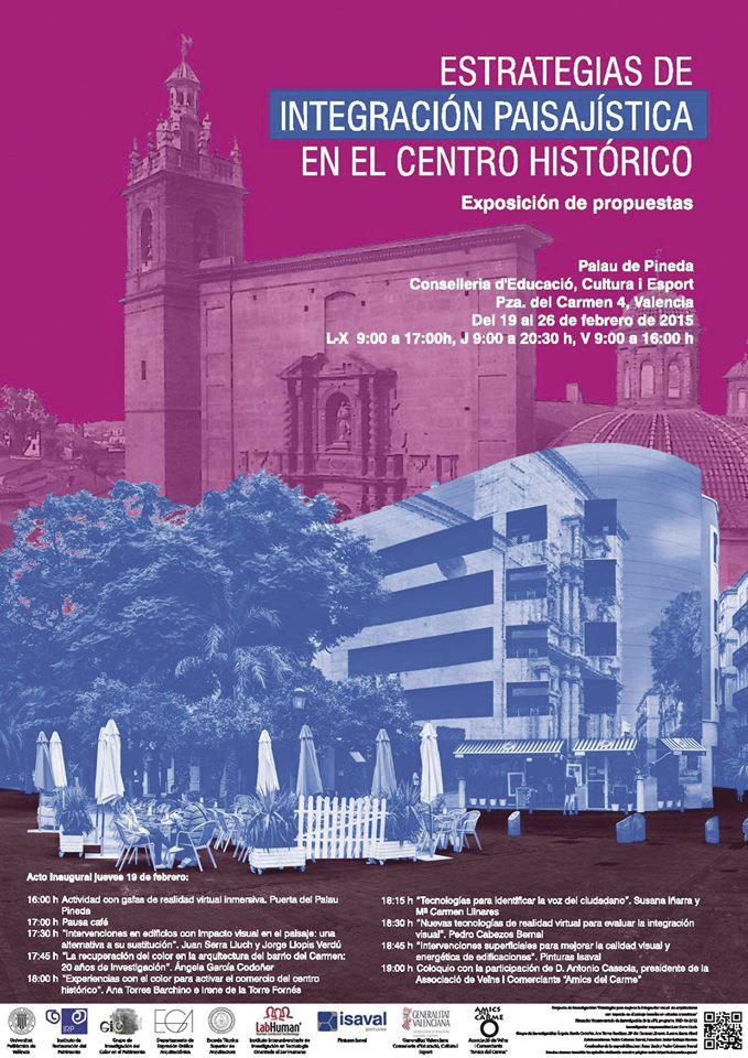 Estrategias de integración paisajística en el centro histórico