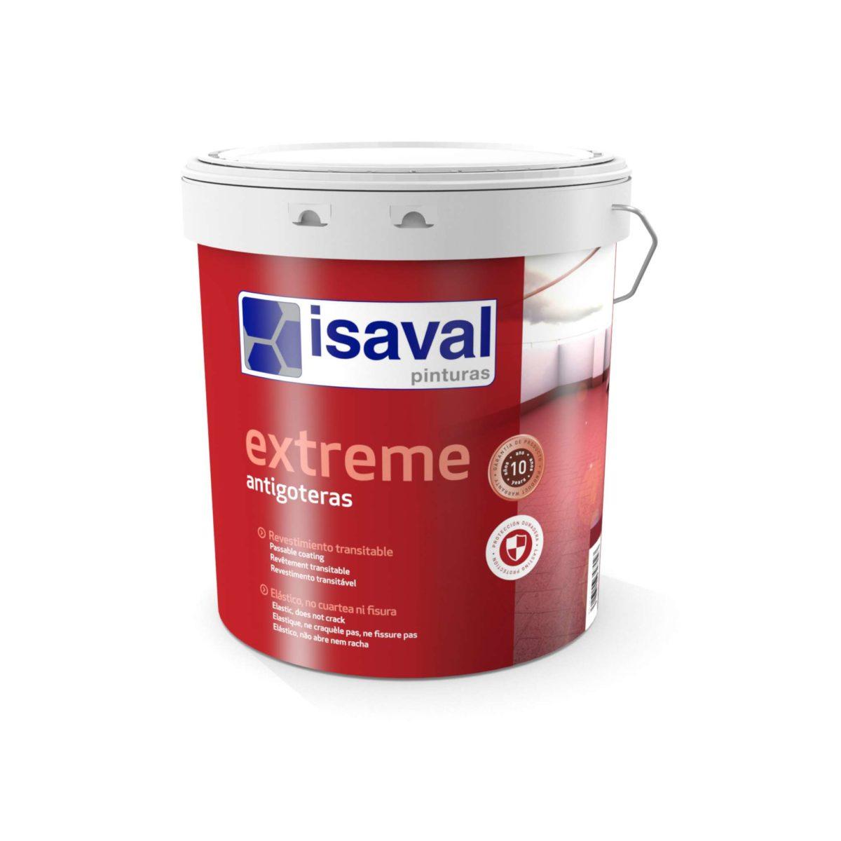 Extreme Antigoteras. Rev. elástico impermeabilizante . Pinturas Isaval