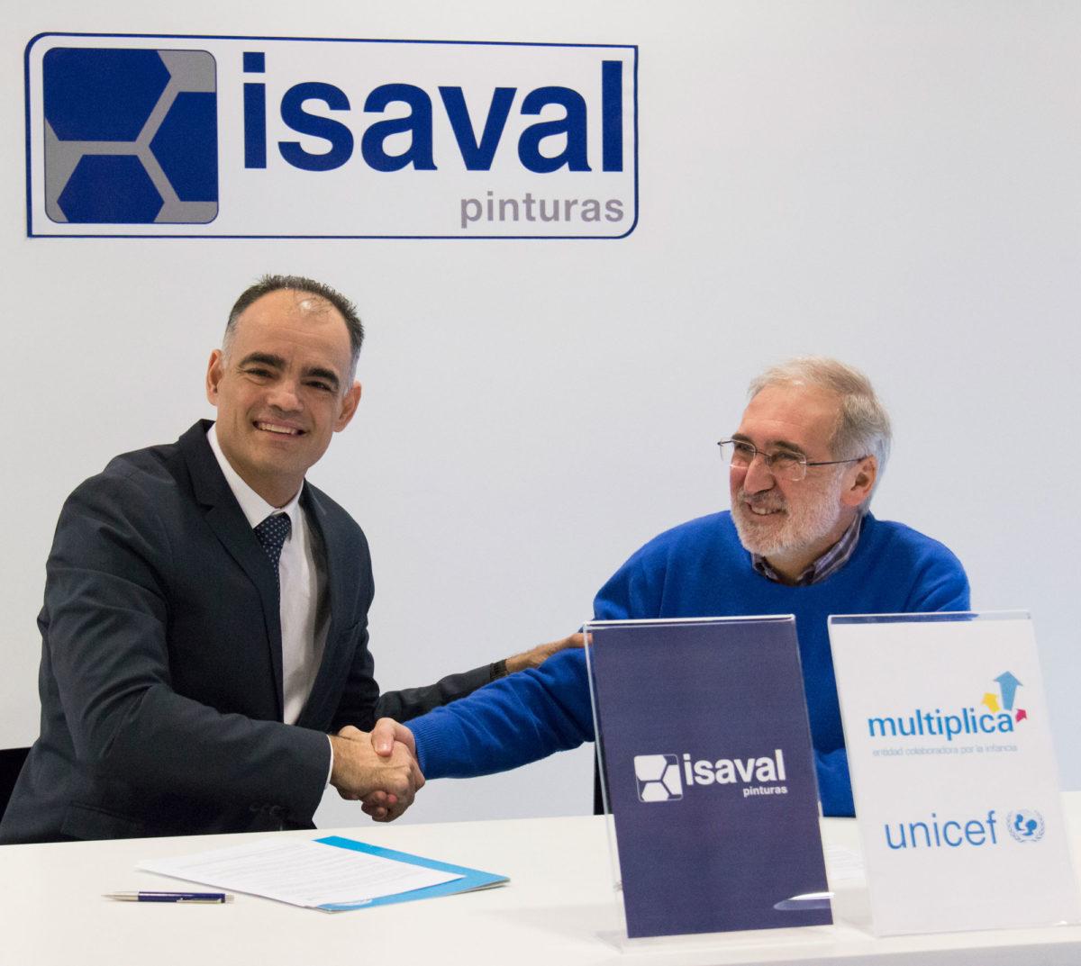 Isaval Multiplica por la infancia junto a UNICEF