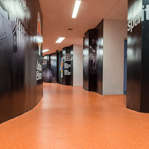 Locker room Valencia Basket Club
