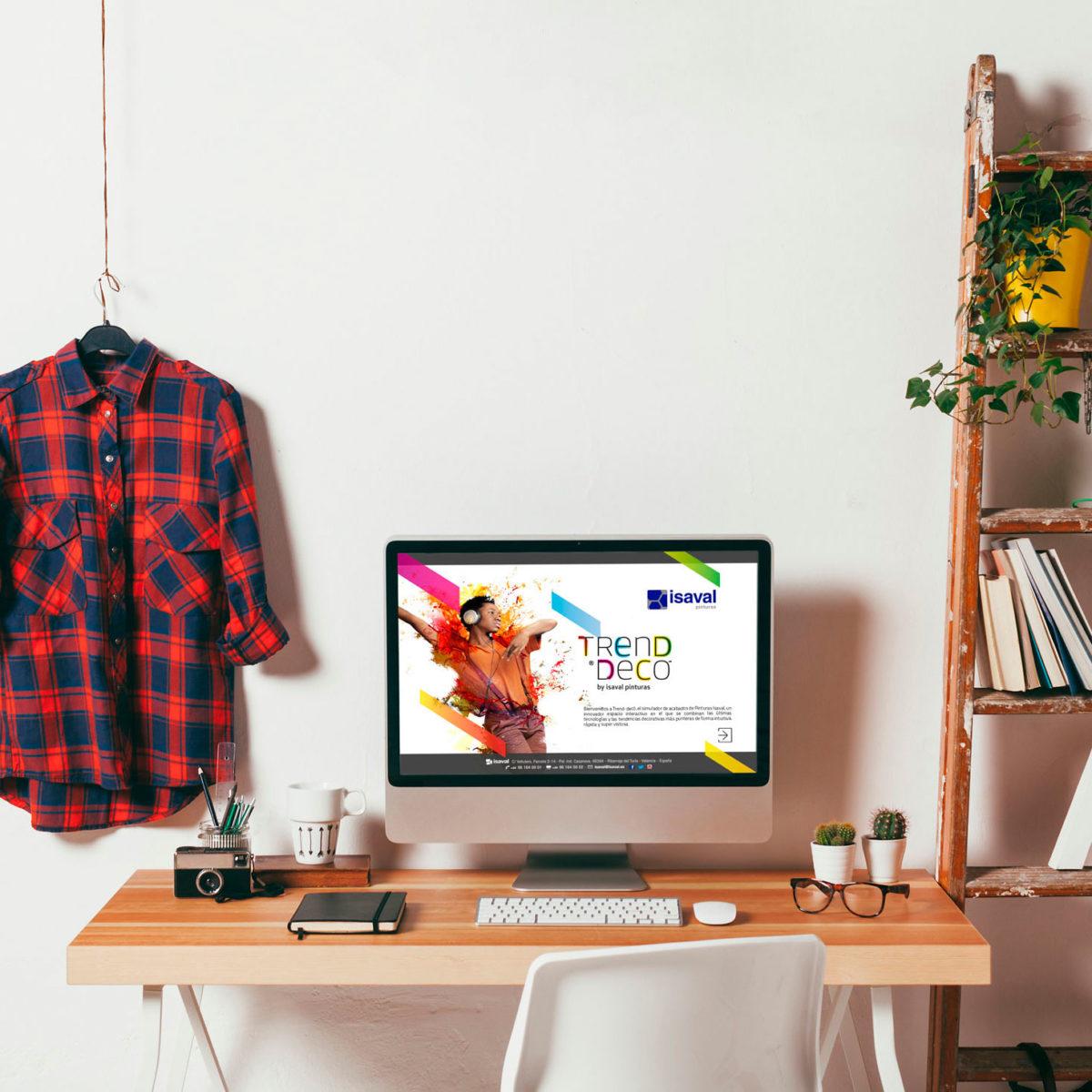 Trenddeco simulador pintura y colores tendencia pinturas isaval