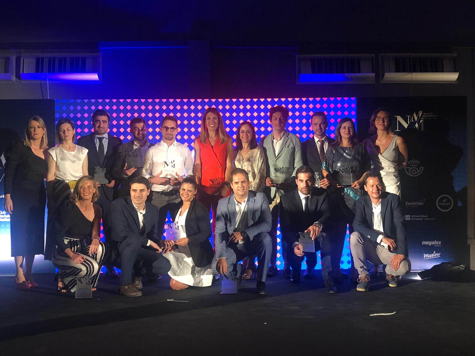 Finalistas noche del marketing mediterráneo