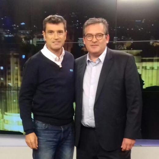 Entrevisa a Francisco Vallejo en CRONO, Mediterráneo TV