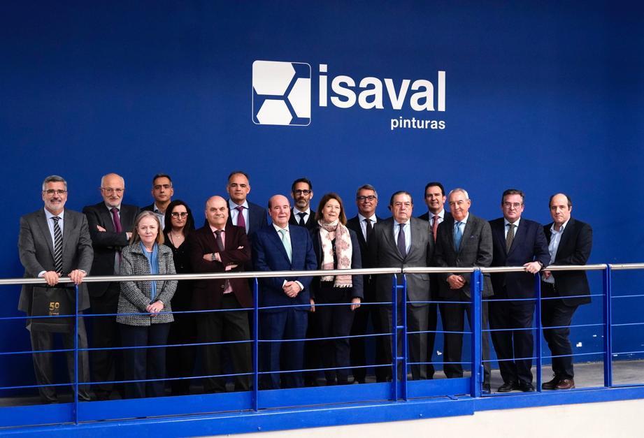 Junta Directiva AVE en Pinturas Isaval.