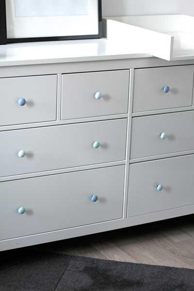 Diy pintar los pomos de tus muebles isaval for Pomos para muebles