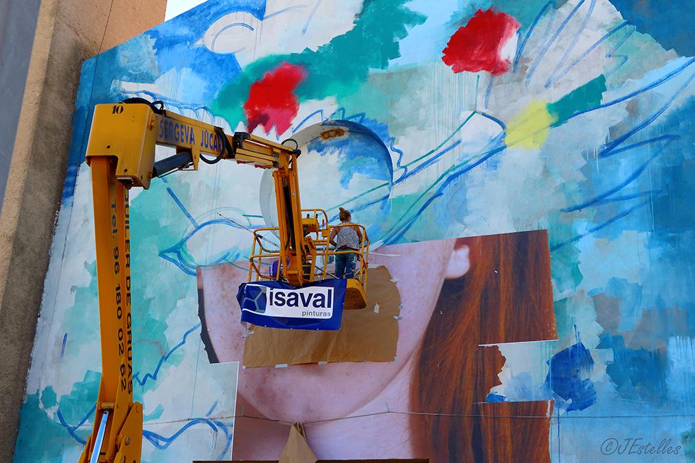 Bienal artística de Part en Part de Buñol