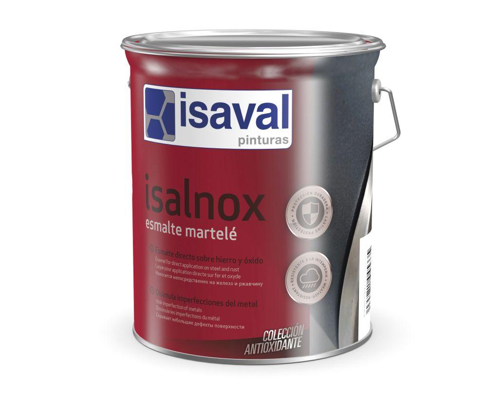 Isalnox Esmalte martelè. Esmalte sintético anticorrosivo de Pinturas Isaval