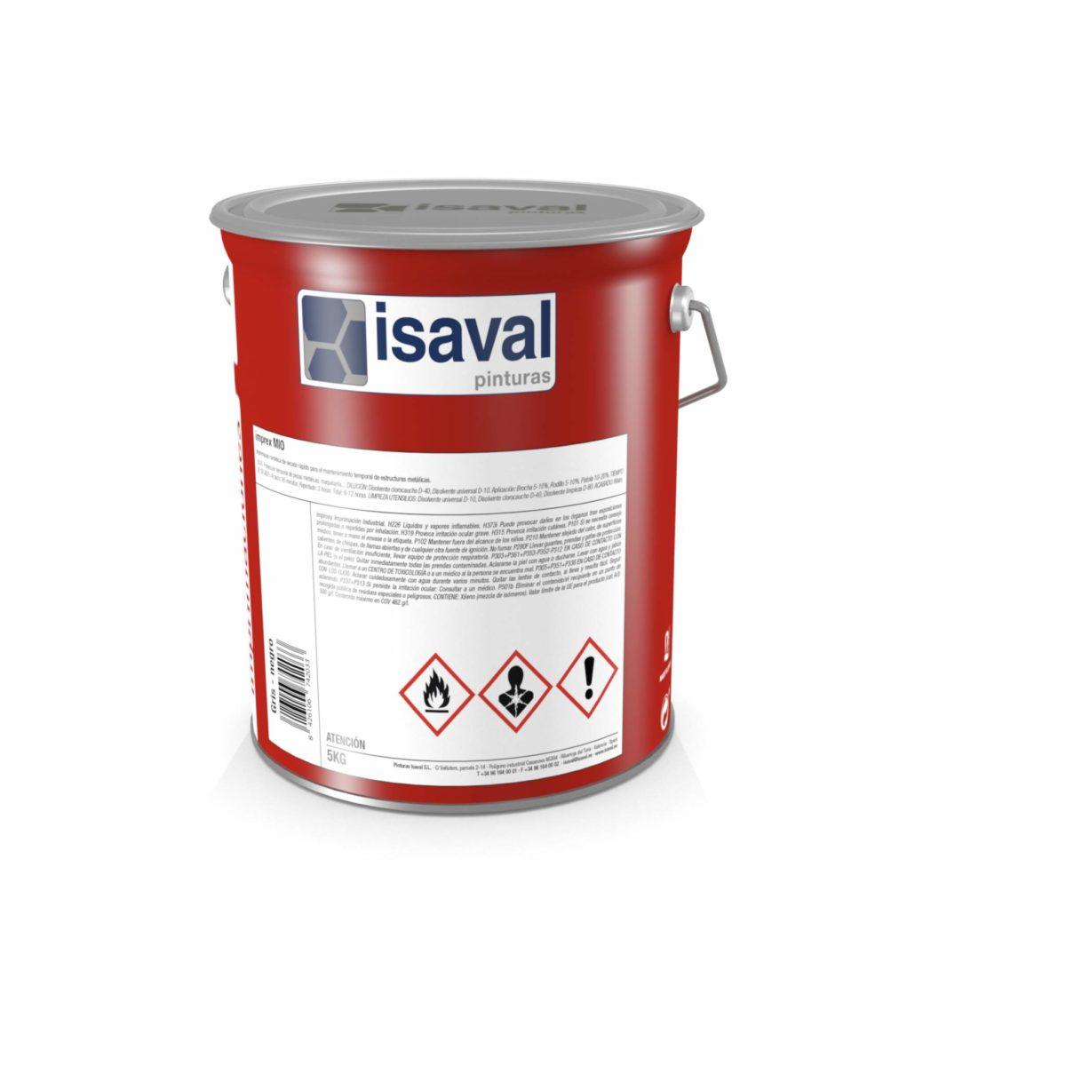 Imprex MIO. Imprimación epoxi óxido micáceo de Pinturas Isaval