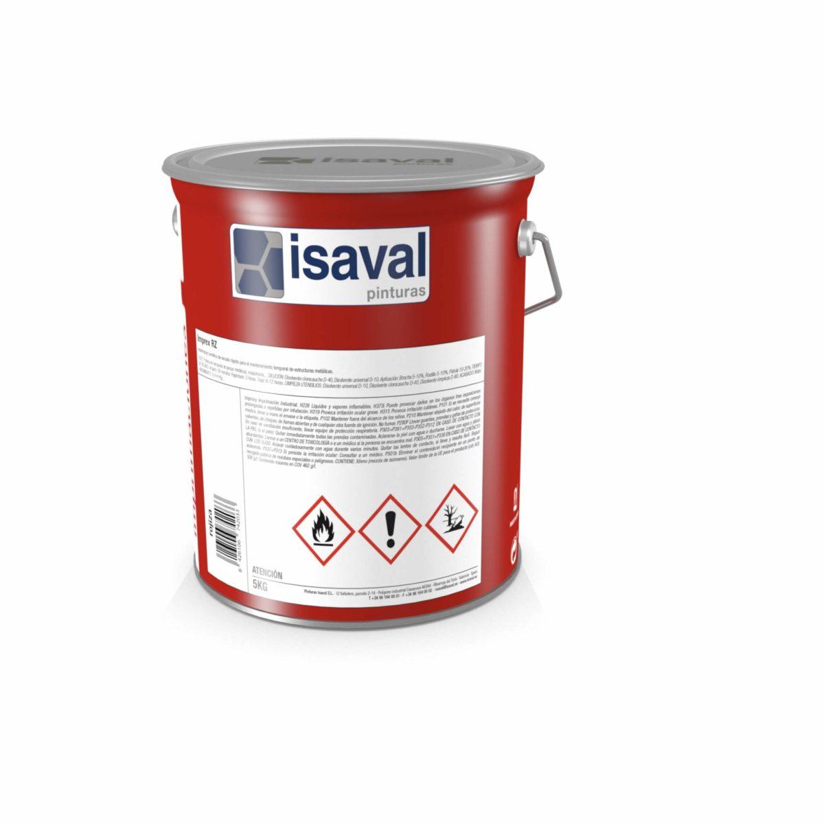 Imprex RZ. Imprimación epoxi-poliamida rica en zinc. Pinturas Isaval