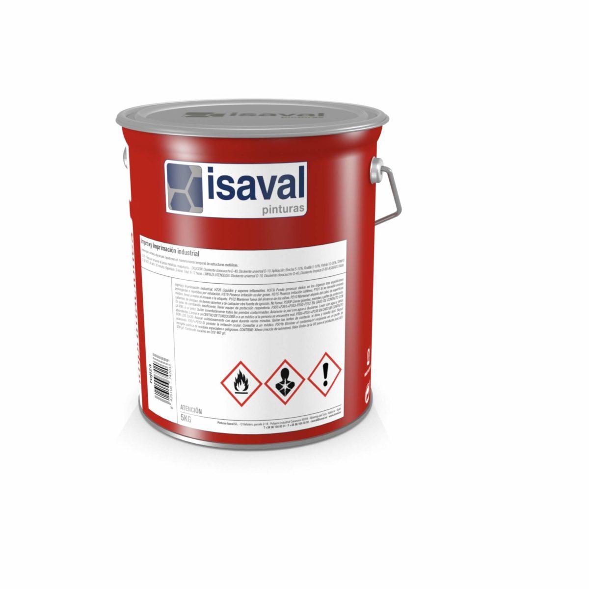 Improxy Imprimación industrial. Imprimación sintética temporal de Pinturas Isaval