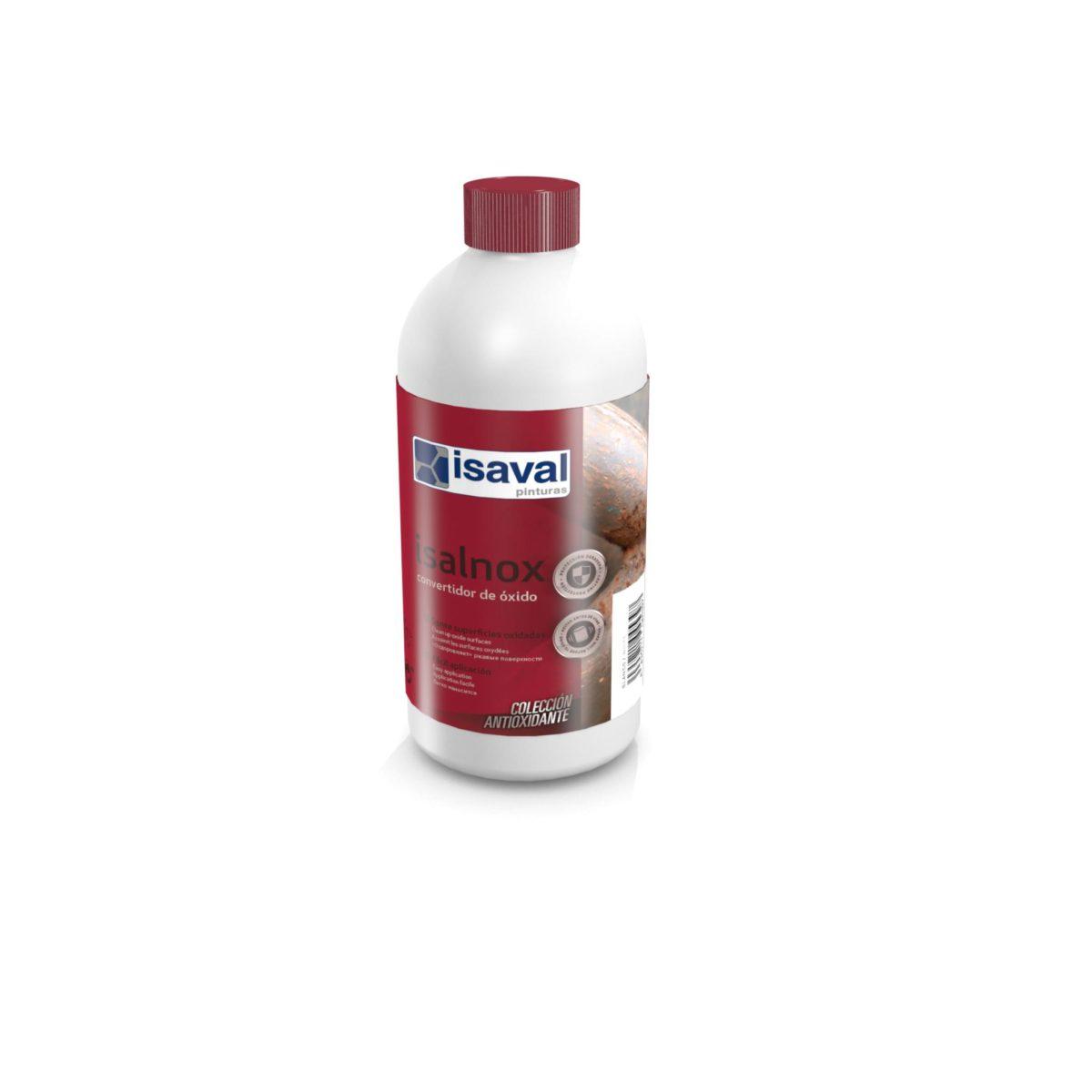 Isalnox Convertidor de óxido. Fijador anticorrosivo de Pinturas Isaval