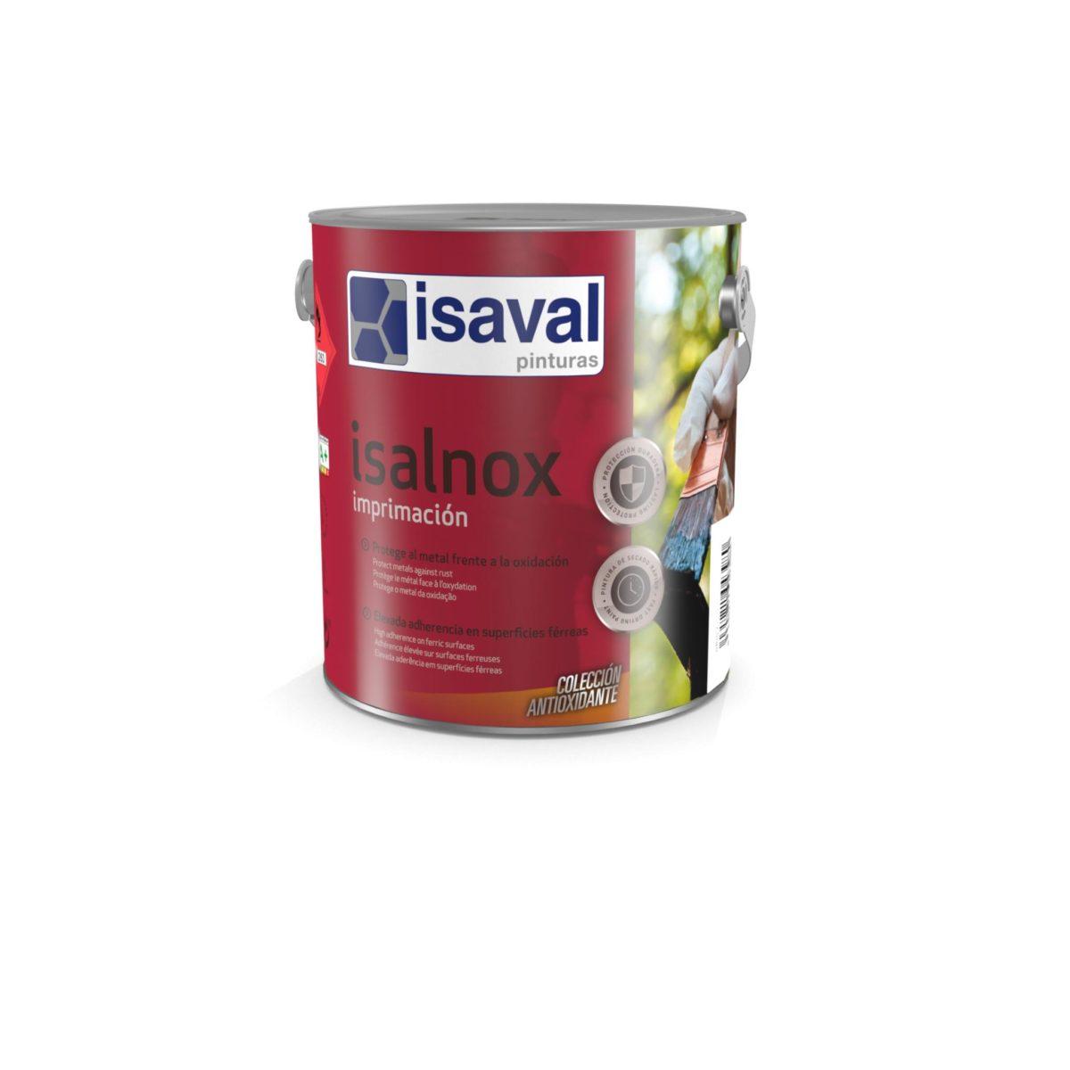 Isalnox Imprimación. Imprimación alquídica antioxidante de Pinturas Isaval