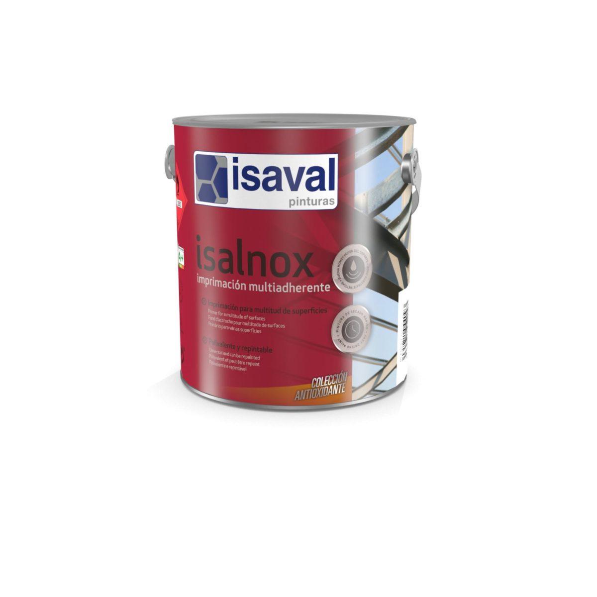 Isalnox Imprimación multiadherente. Imprimación polivalente antioxidante de Pinturas Isaval