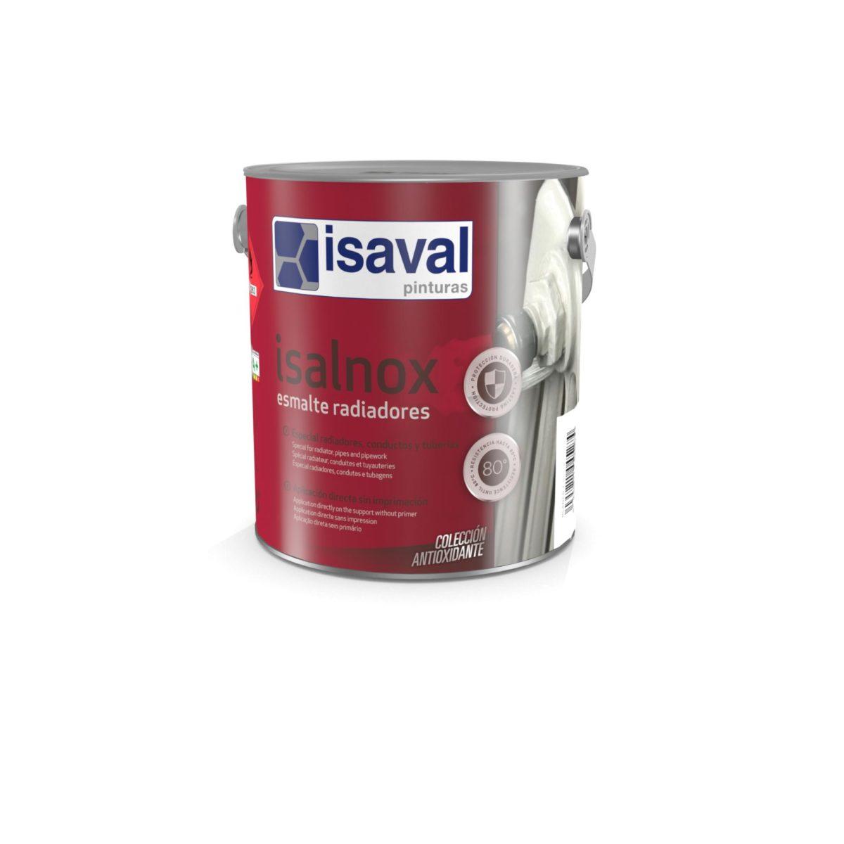 Isalnox Esmalte radiadores. Esmalte sintético protección radiadores de Pinturas Isaval