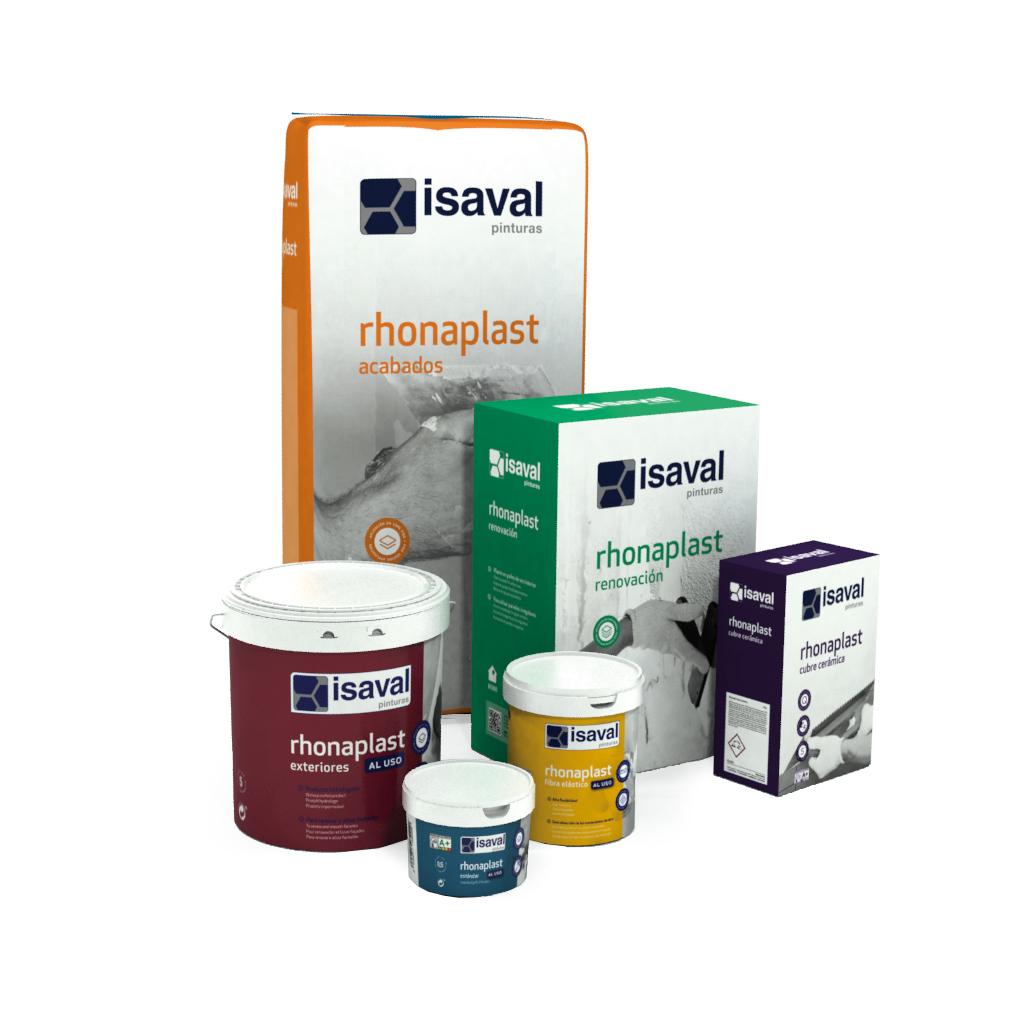 I+D+i Rhonaplast, nueva línea de plastes y masillas.