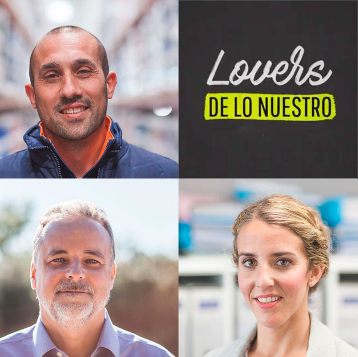 Somos #LoversDeLoNuestro – Campaña Club Marketing Mediterráneo.