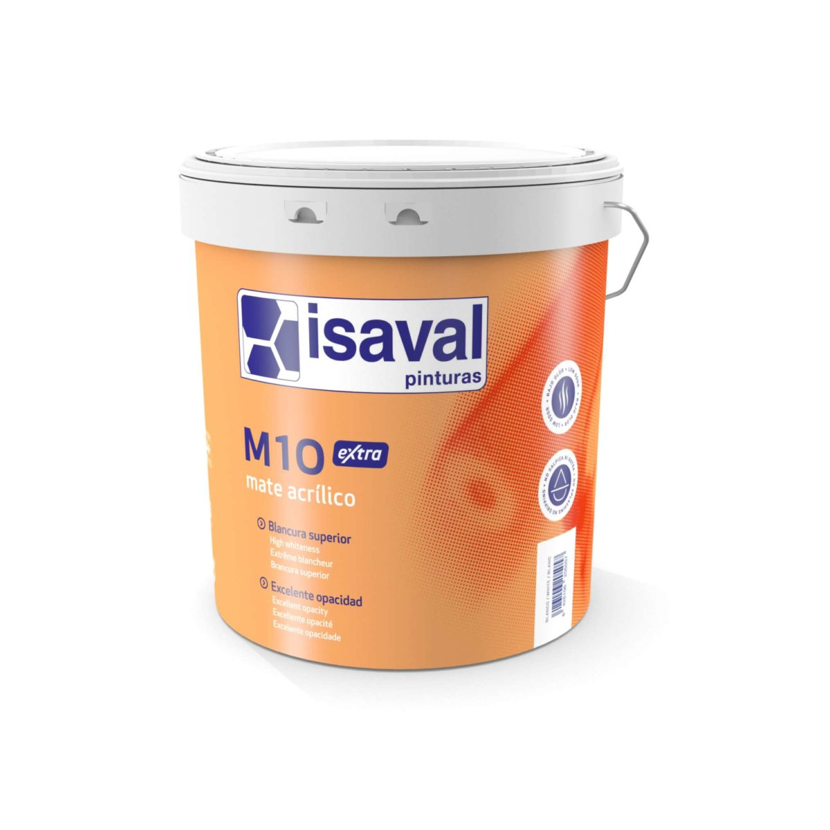 M10 Extra. Pintura acrílica profesional de Pinturas Isaval