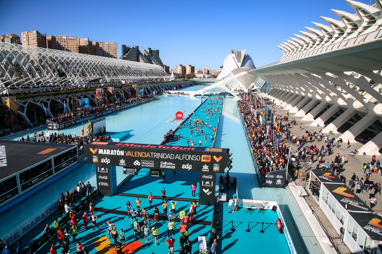 Meta maratón Trinidad Alfonso Valencia