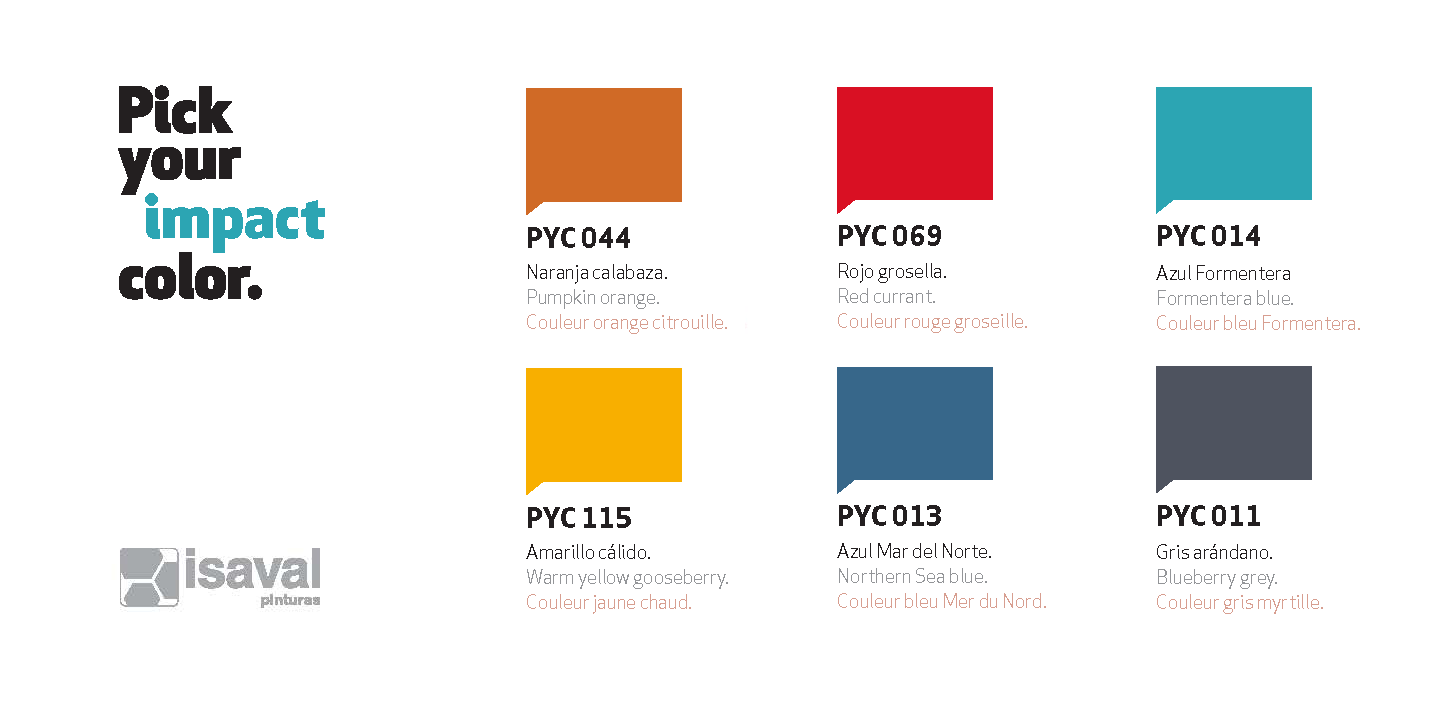 Colores PYC 2020 - Impact Collection