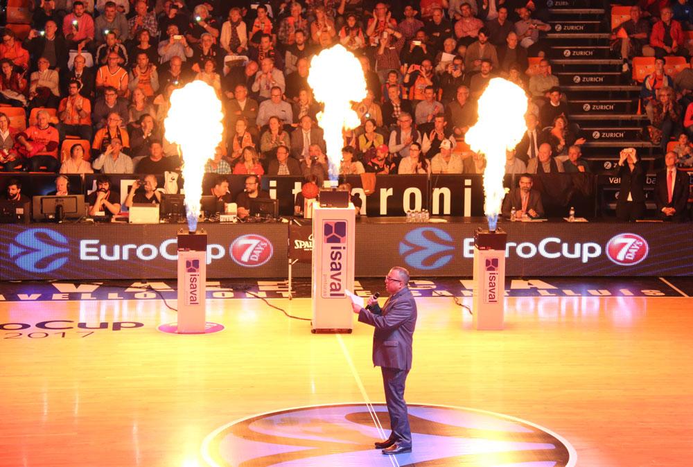 Acompañamos a Valencia Basket Club en la final de EuroCup