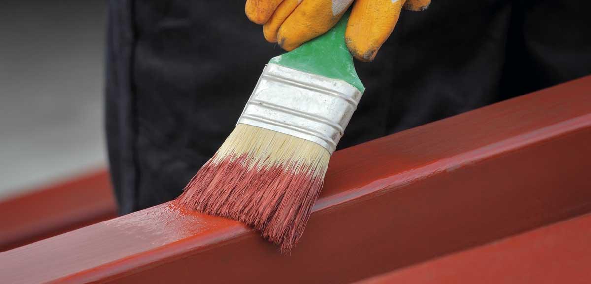 Pintura protectora contra el óxido