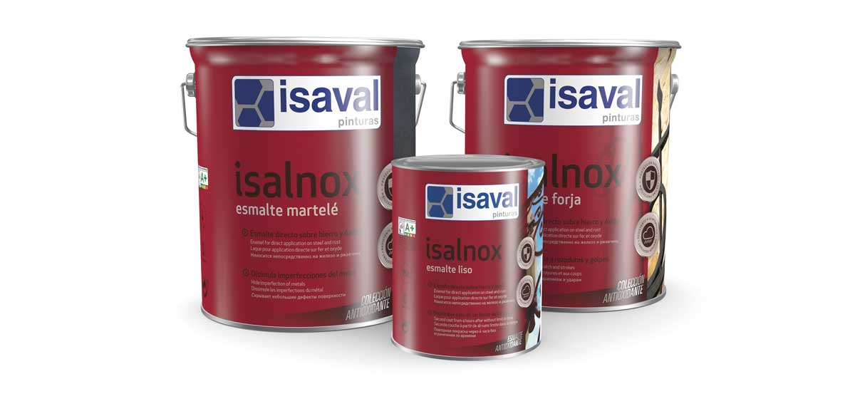 Isalnox, protector antióxido Pinturas Isaval