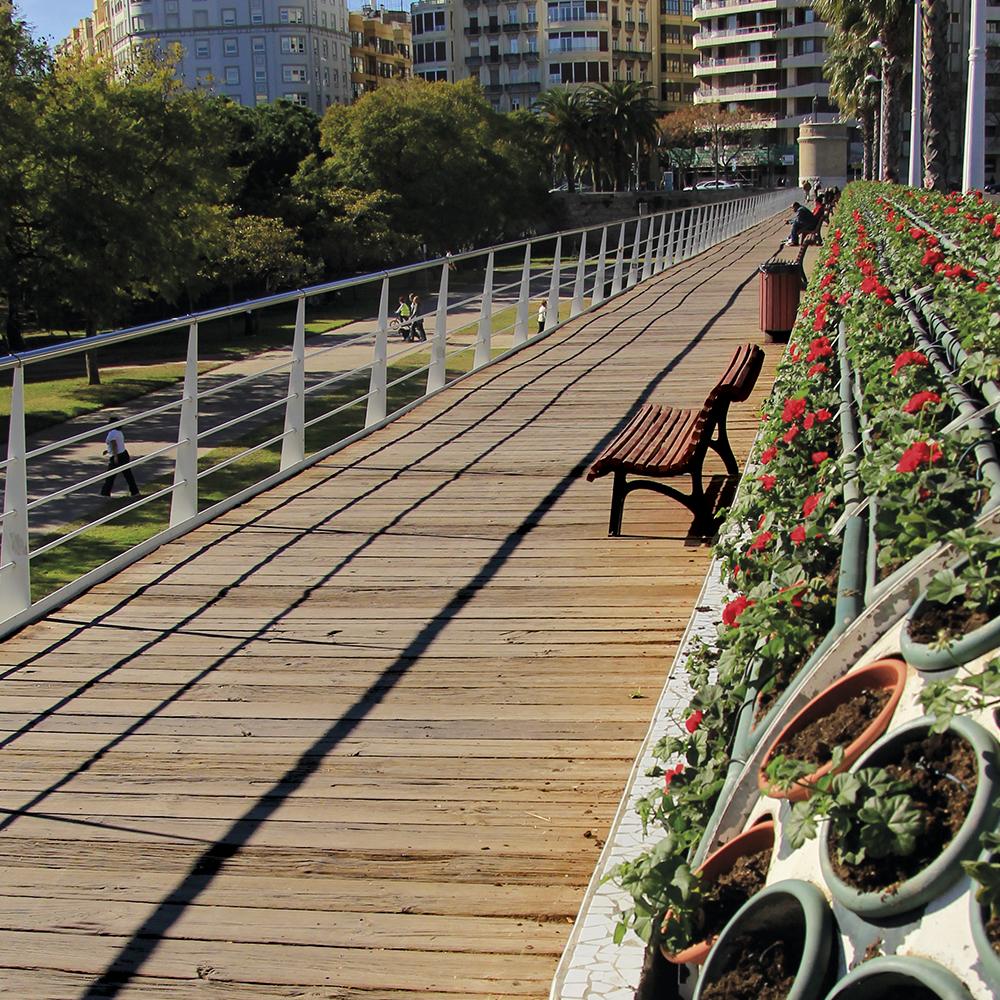 Puente de las flores – Valencia