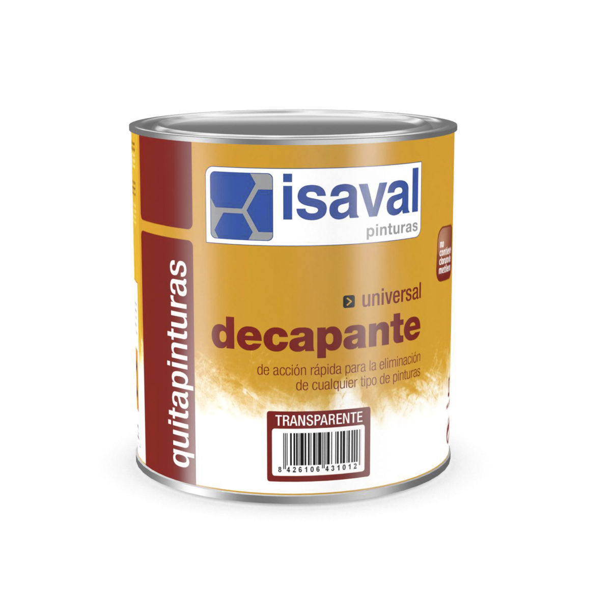 Quitapinturas universal. Gel decapante pintura de Isaval